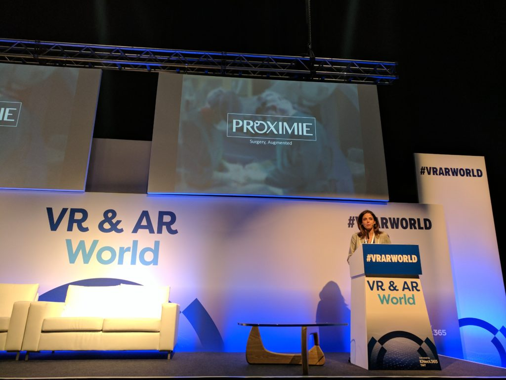 #VRARWORLD Presenter